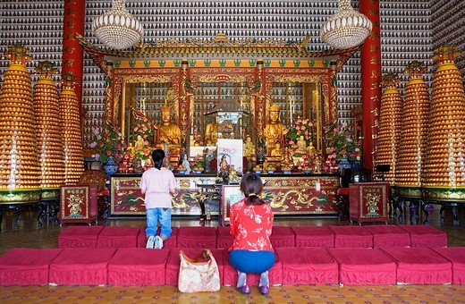 Stock Photo: 1566-930394 Temple of Ten Thousand Buddhas  Sha Tin  New territories,Hong Kong, China