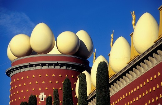 Dalí´s Theatre Museum Torre Galatea  Girona province  Catalonia  Spain : Stock Photo