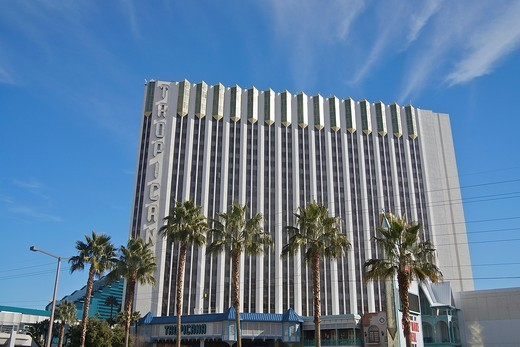Stock Photo: 1566-931887 The Tropicana Hotel, on the Las Vegas Strip