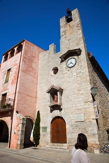 Torroella de Montgrí  Bajo Ampurdan  Baix Empordá  Costa Brava  Girona Province  Catalunya Catalonia  Cataluña  Spain. : Stock Photo