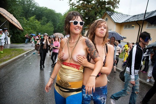 Stock Photo: 1566-932923 Pride Festival, Stockholm Sweden