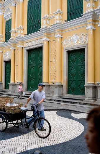 St Dominic´s Church, in St Dominic´s square,Macau,China : Stock Photo