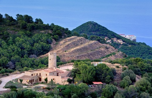 Begur  Carmen Amaya house Costa Brava  Girona province  Catalonia  Spain : Stock Photo