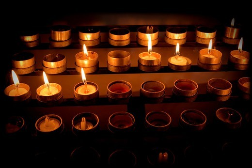 Stock Photo: 1566-933514 Candles
