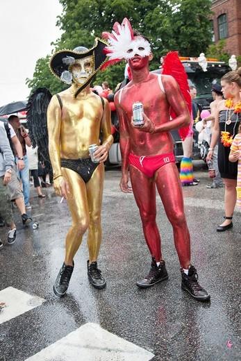 Stock Photo: 1566-933633 Pride Festival, Stockholm Sweden