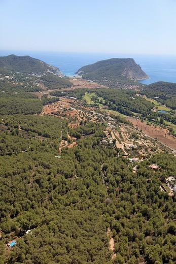 Puig d´en Toni Mosson, Ibiza, Balearic Islands, Spain : Stock Photo