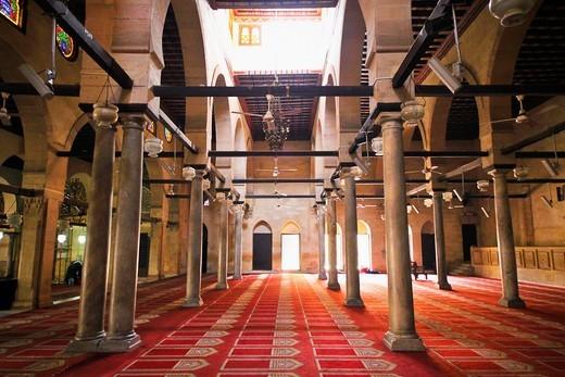 Stock Photo: 1566-936314 Al-Azhar mosque, Cairo, Egypt