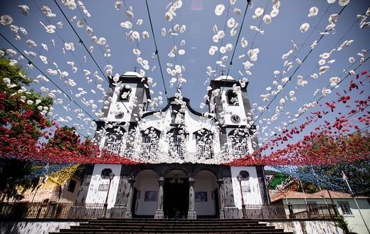 Nossa Senhora do Monte, Funchal, Madeira, Portugal. : Stock Photo