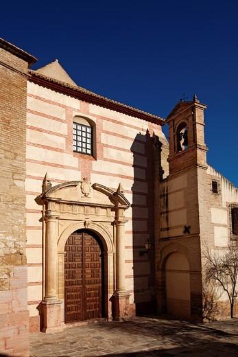 Church of El Carmen, Antequera, Malaga Province, Andalusia, Spain. : Stock Photo