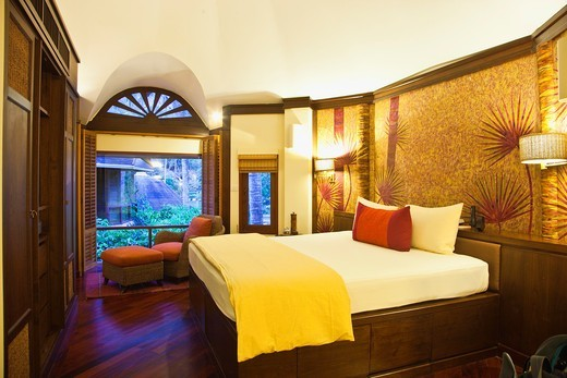 Room  Hotel Rayavadee, Hat Phra Nang, Krabi, Thailand. : Stock Photo