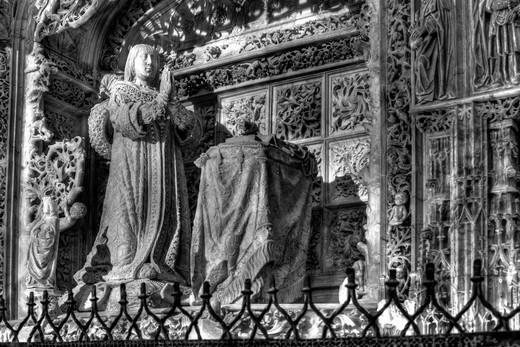 Stock Photo: 1566-941288 Cartuja de Miraflores, near Burgos, Castile and Leon, Spain
