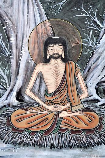 Stock Photo: 1566-941751 Seoul (South Korea): Buddhist image at the Jogyesa Temple