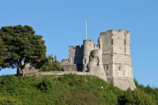 Lewes Castle, Lewes, Sussex, England : Stock Photo