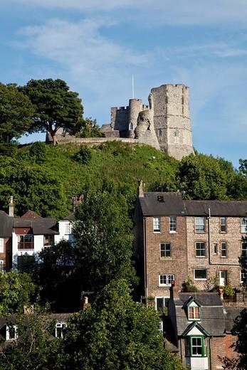 Lewes Castle, Lewes, Sussex, England : Stock Photo