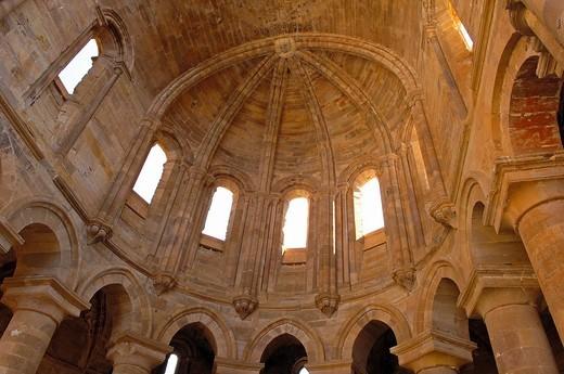 Stock Photo: 1566-945417 Ruins of Santa Maria de Moreruela Cistercian monastery (12th century), Granja de Moreruela, Zamora province, Castilla-Leon, Spain