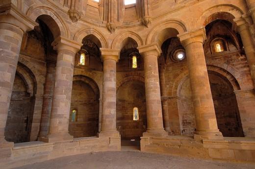 Stock Photo: 1566-945419 Ruins of Santa Maria de Moreruela Cistercian monastery (12th century), Granja de Moreruela, Zamora province, Castilla-Leon, Spain