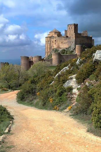 Stock Photo: 1566-945747 Loarre Castle, Aragon, Spain