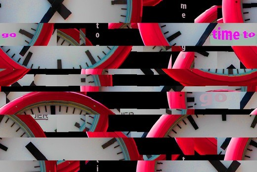 Stock Photo: 1566-945870 time abstract