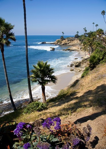 Stock Photo: 1566-945925 Laguna Beach viewed from Heisler Park
