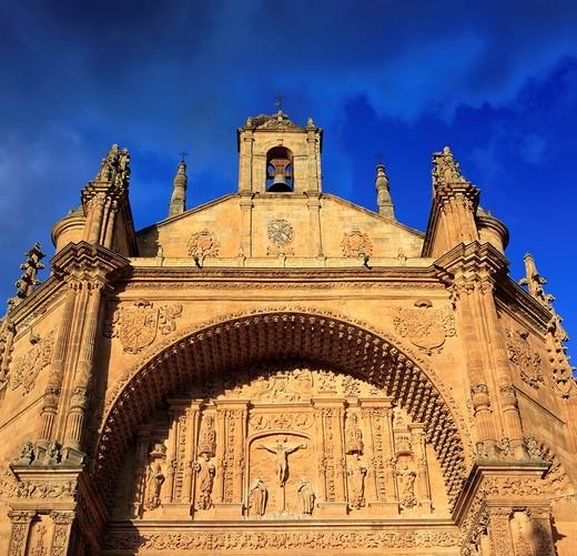 Convento de San Esteban, Salamanca, Castile and Leon, Spain : Stock Photo