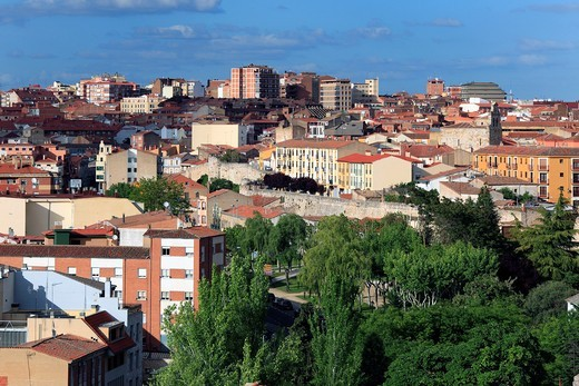Stock Photo: 1566-946128 View of the city, Zamora, Spain