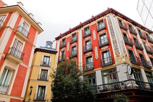 Posada del Peine, Madrid, Spain : Stock Photo