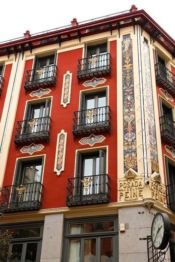 Stock Photo: 1566-948226 Posada del Peine, Madrid, Spain