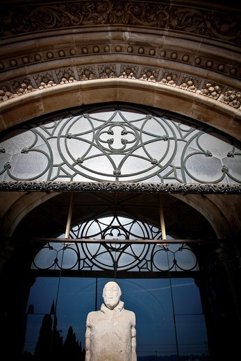 Mosteiro dos Jeronimos, Hieronymites Monastery, Late Gothic period, Belem, Lisbon : Stock Photo