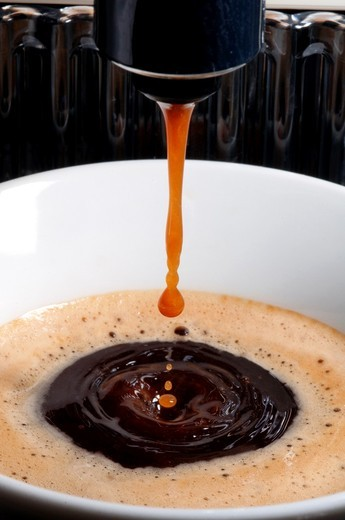 Stock Photo: 1566-954685 Cup of Coffee with drop