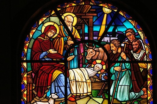Stock Photo: 1566-957443 Ethiopia- Addis Abeba- at the Saint Trinity church at Adiis Ababa: Steaned glass representing the birth of Jesus at Nazareth  Jesus of Nazareth 7–2 BC/BCE – 30–36 AD/CE, commonly referred to as Jesus Christ or simply as Jesus or Christ, is the central fig. Ethiopia- Addis Abeba- at the Saint Trinity church at Adiis Ababa: Steaned glass representing the birth of Jesus at Nazareth  Jesus of Nazareth 7–2 BC/BCE – 30–36 AD/CE, commonly referred to as Jesus Christ or simply as Jesus or Christ, is the
