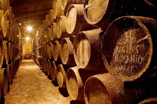 Toro Albala Wine Cellars in Aguilar de la Frontera Cordoba Andalusia Spain. : Stock Photo