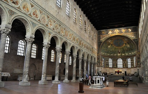 Stock Photo: 1566-958048 Ravenna (Italy): Basilica of Sant'Apollinare in Classe