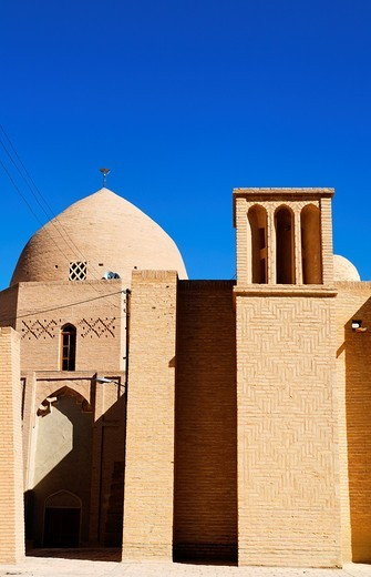 The historic Masjid-i Jami, Friday Mosque, at Nain, Iran : Stock Photo