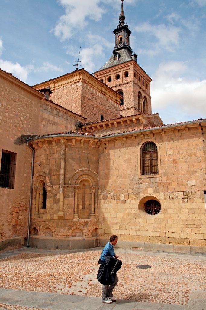 Church of St. Martin, Romanesque, Segovia, Spain : Stock Photo