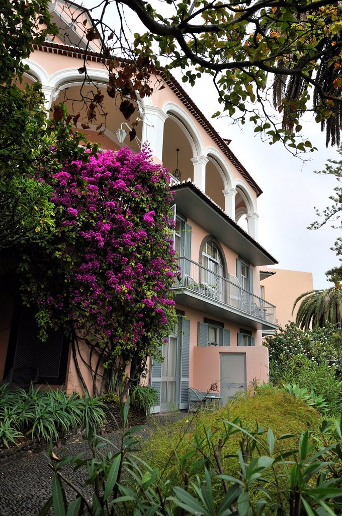 Reid´s Palace, Funchal, Madeira island, Atlantic Ocean, Portugal : Stock Photo