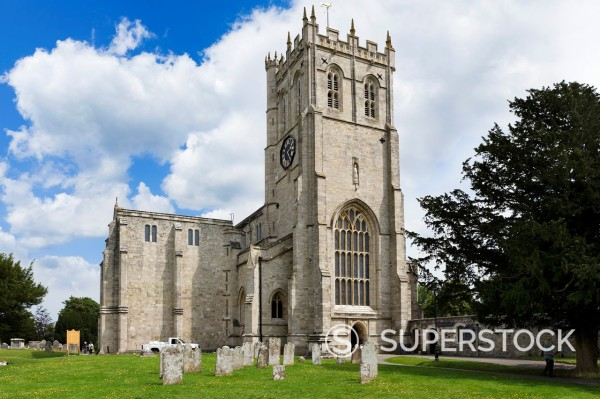 Christchurch Priory, Christchurch, Dorset, England, UK : Stock Photo