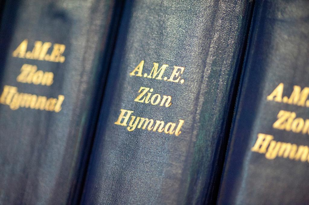 Bindings of hymnal books : Stock Photo