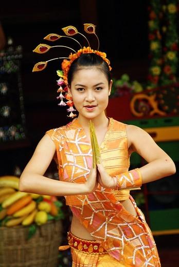 China Folk Culture Village, Shenzhen, China. : Stock Photo