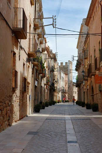 Stock Photo: 1566-965437 Montblanc town  Catalonia, Spain