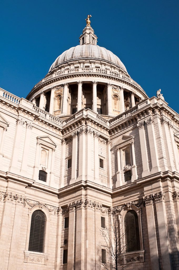Stock Photo: 1566-967867 St  Paul´s Cathedral, London, United Kingdom