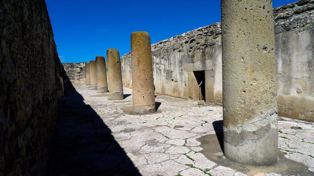 Stock Photo: 1566-968008 Mitla  Zapotec civilization  Oaxaca  Mexico