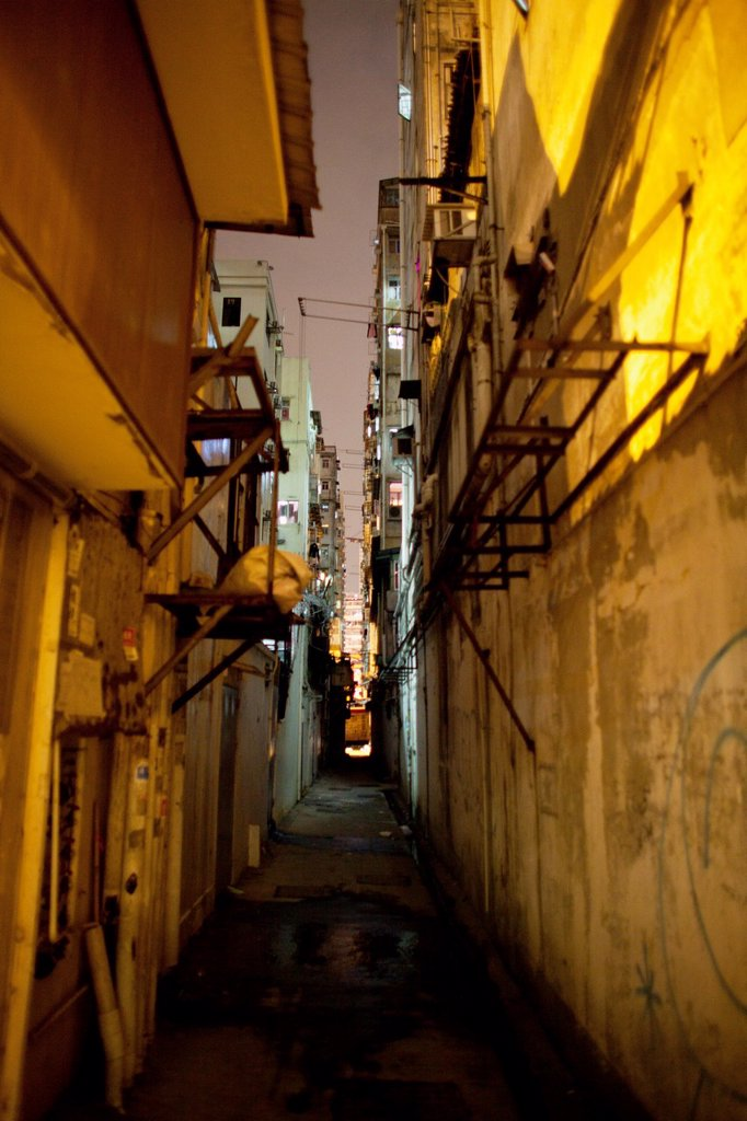 alley in Hongkong, China : Stock Photo