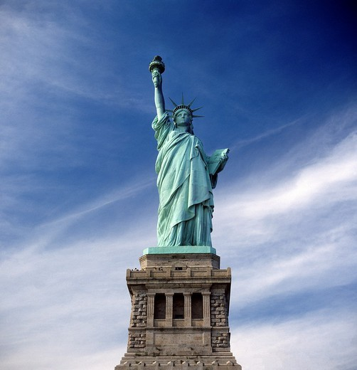 The Statue of Liberty , New York USA : Stock Photo
