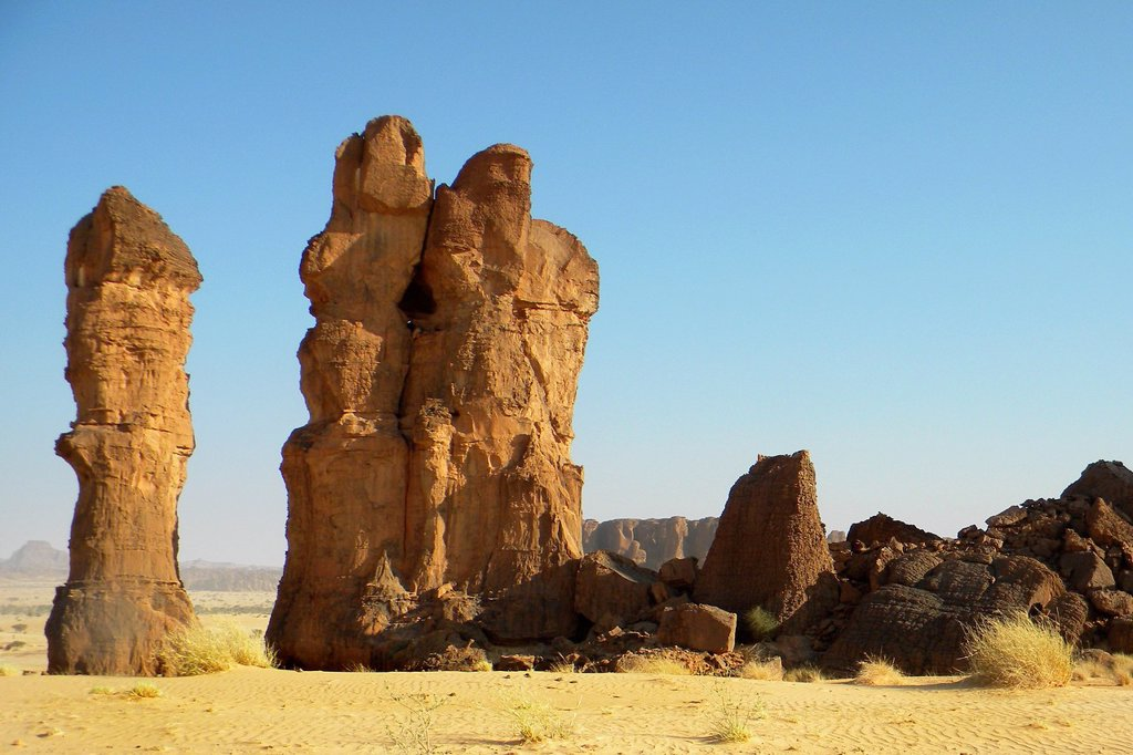 Stock Photo: 1566-970672 Archei gueltas, Ennedi region, Chad