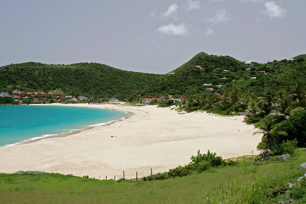 Stock Photo: 1566-974586 Beach at Flamands St Barts