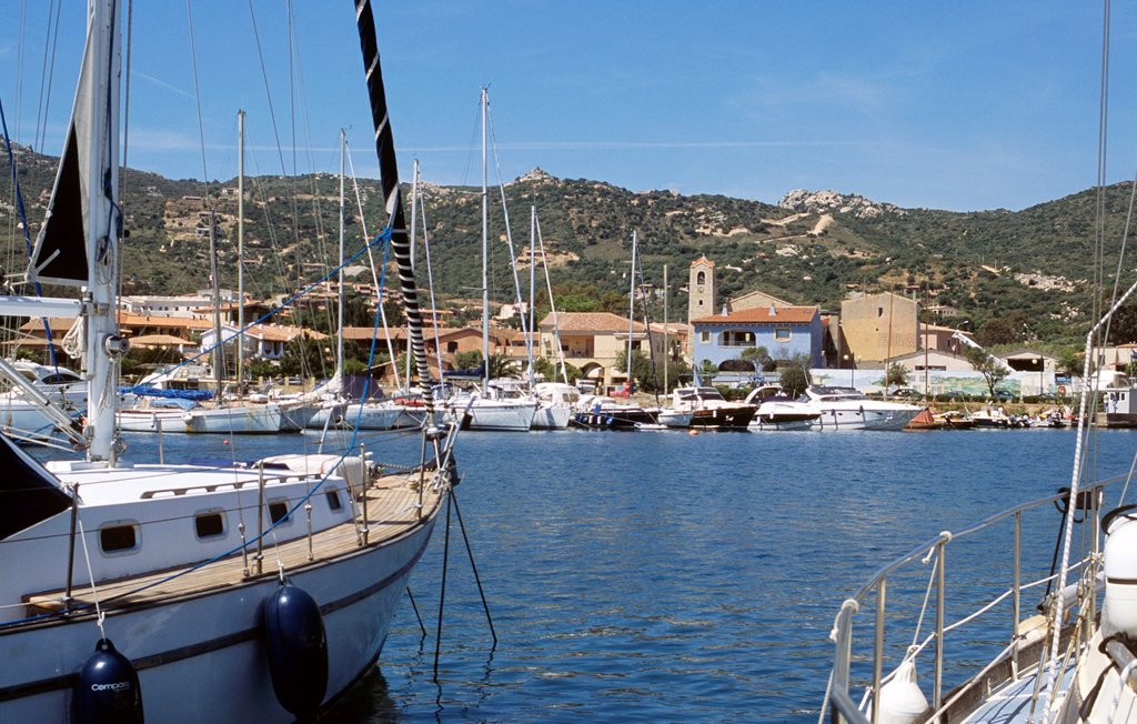 Village in northern Sardinia : Stock Photo
