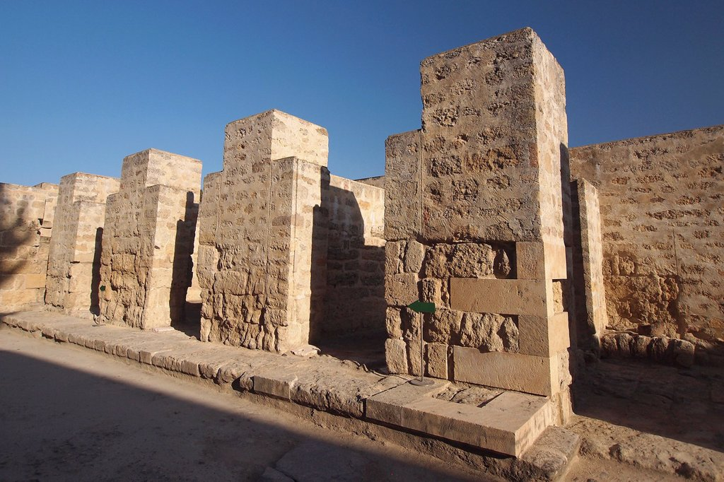 Stock Photo: 1566-974838 Madinat al-Zahra, Medina Azahara, General View, Medieval Archaeological Complex, Córdoba, Andalusia, Spain, Europe