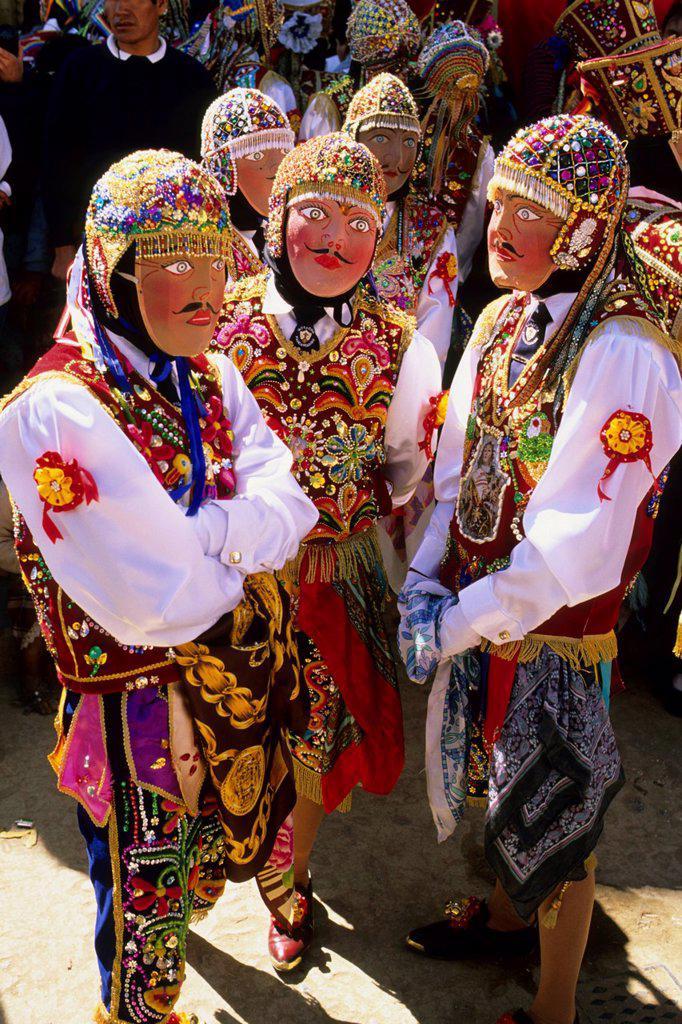 Stock Photo: 1566-976973 Peru Paucartambo Fiesta del Carmen