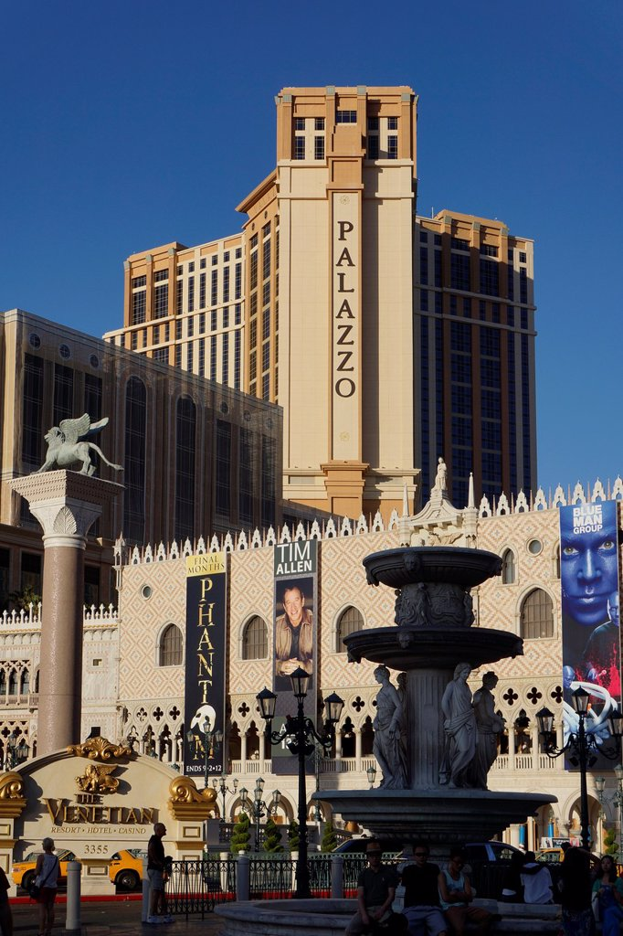 Stock Photo: 1566-978116 The Venetian Hotel, Palazzo, Las Vegas, Nevada, USA