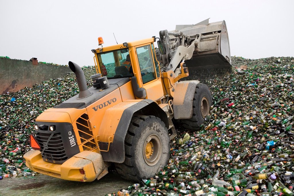 Stock Photo: 1566-979431 Recycling of toxic waste All municipalities in The Netherlands are required to provide known collection points for recyclable and/or hazardous materials All types of separated trash can be accepted here for free or a small sum depending on type of materia